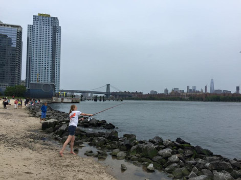 Fishing in the East River: The Strait Truth