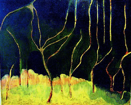 Tree Spirits in Empty Woods
