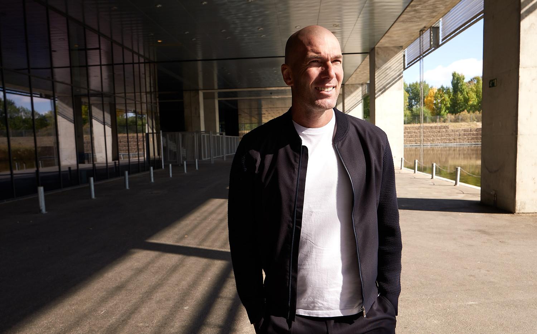 Zinedine Zidane on set for OTRO (image b