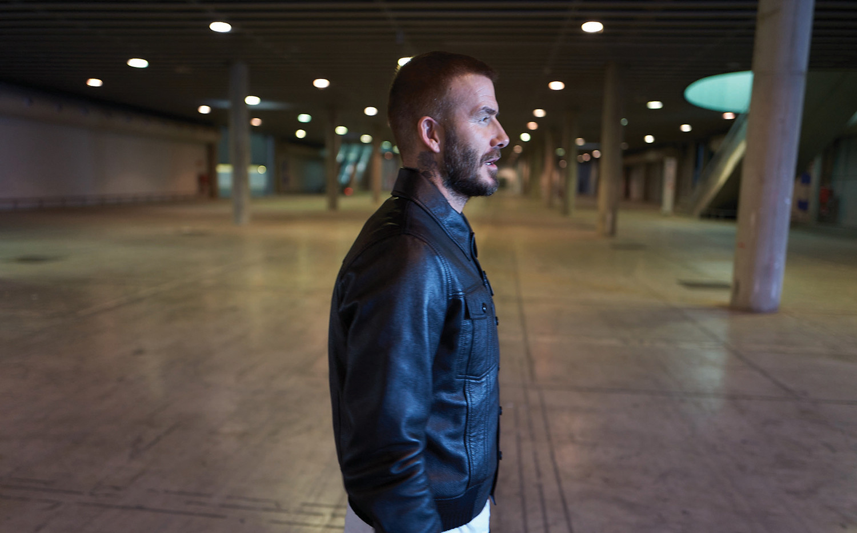 David Beckham on set for OTRO (image by