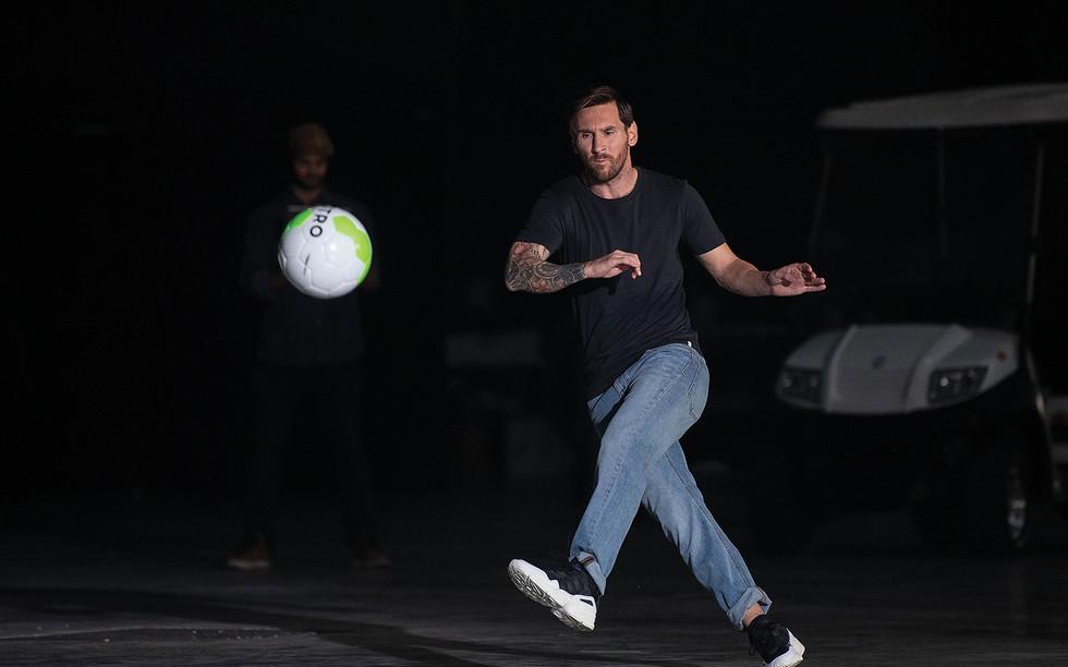 Lionel Messi OTRO Drone Down (image by D