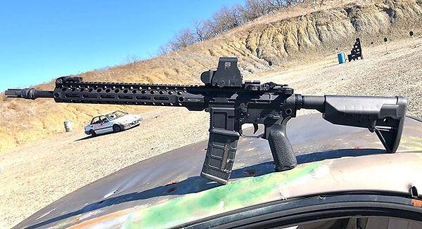 New rifle..who dis_ Gotta love building