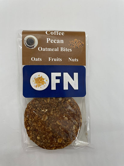Coffee Pecan Oatmeal Bites