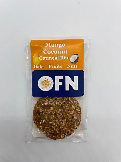 Mango Coconut Oatmeal Bites