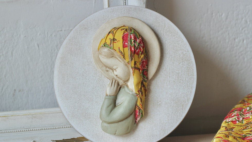 Virgen niña caléndula