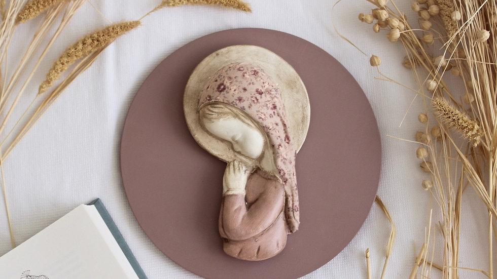 Virgen niña entelada para madres