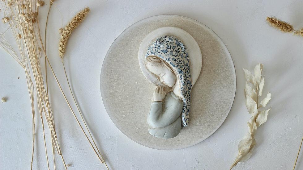 Virgen niña porcelana