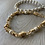 Thumbnail: Gold and Silver Stackable Chain Bracelets