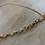 Thumbnail: 14 Karat Gold Filled Lariat Necklace with Handmade Chain