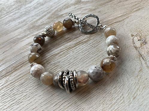 Precious Gemstone Agate Bracelet