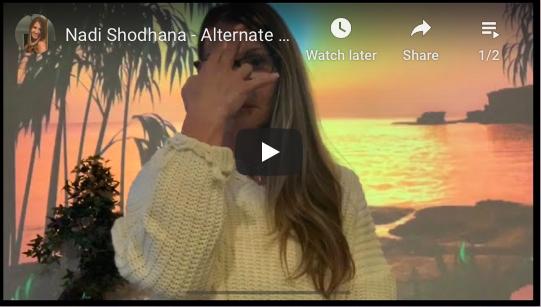 Nadi Shodhana - Breathwork