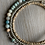 Thumbnail: Amazonite  Gemstone , Coconut Shell and Silver Layered Bracelet
