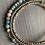 Thumbnail: Amazonite  Gemstone , Coconut Shell and Silver Layered Bracelet