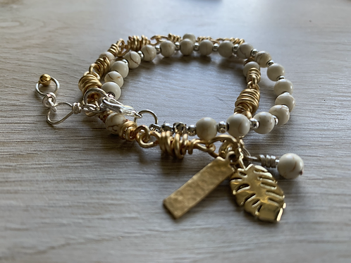 Gold and Silver Stackable Chain Bracelets
