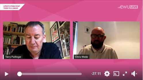 VIDEO AND TRANSCRIPT An update on the Royal Mail Group negotiations from DGSP Terry Pullinger