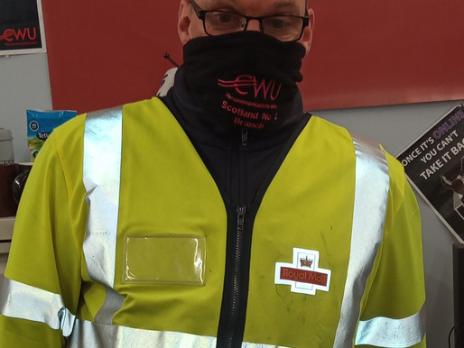 Cwu Scotland No2 Members Only Exclusive Offer Our Branded Snood Face covers