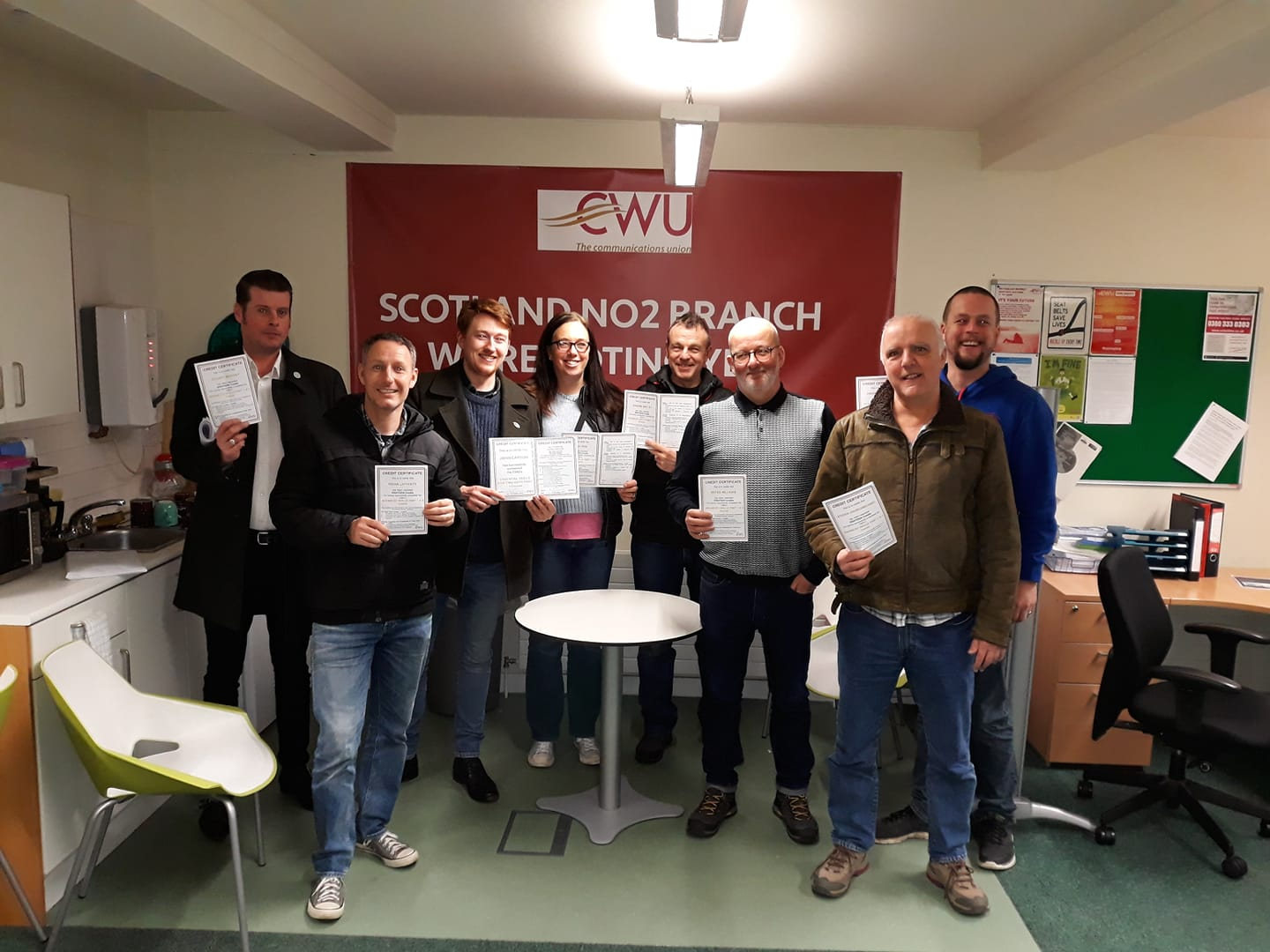 advanced health and safety course 2 graduation day