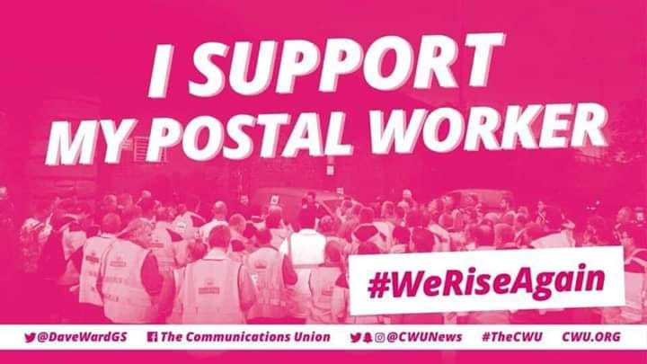 SUPPORT YOUR POSTAL WORKER