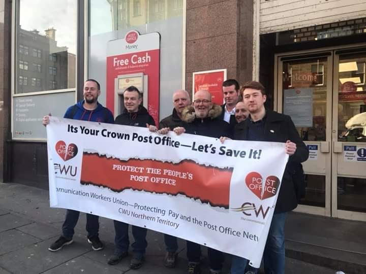 SAve the crown post office campaign