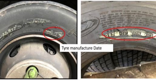 Ban on Tyres over 10 years old for Heavy Goods Vehicles, Buses, Coaches and Minibuses