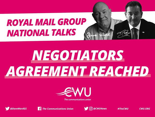 Latest Update on National Talks.  Negotiators Agreement Reached.