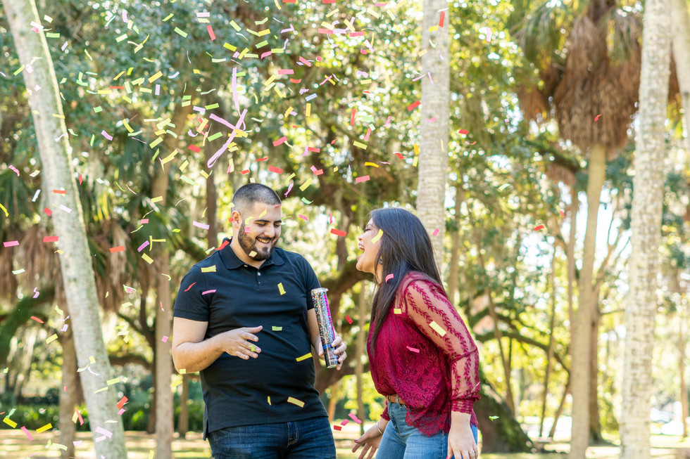 Roque Holiday Mini Session|Swann Circle Park |Tampa, FL