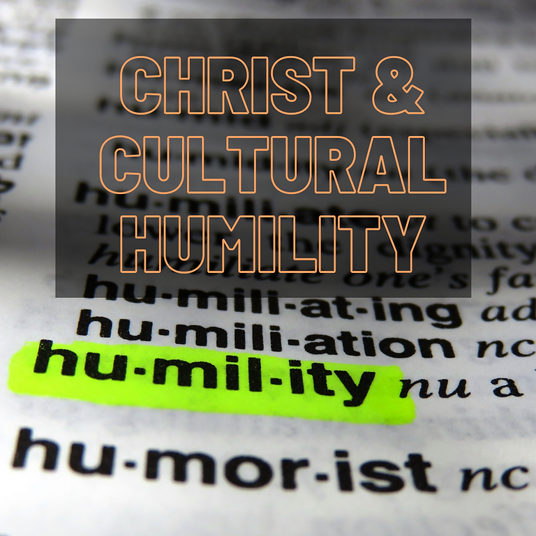 Christ & Cultural Humility Learning Team