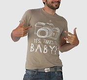 Brown My Baby Tshirt