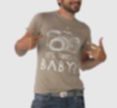 Brown My Baby Tshirt