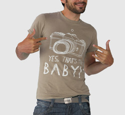 Brown Personalized Printed T-shirt 2