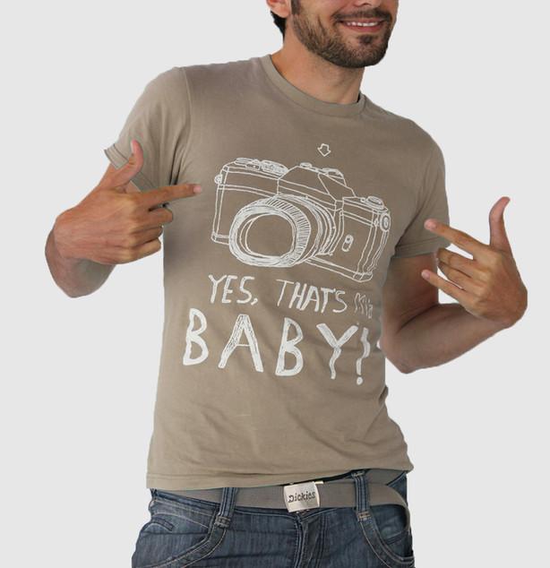 Brown My Baby T-shirt
