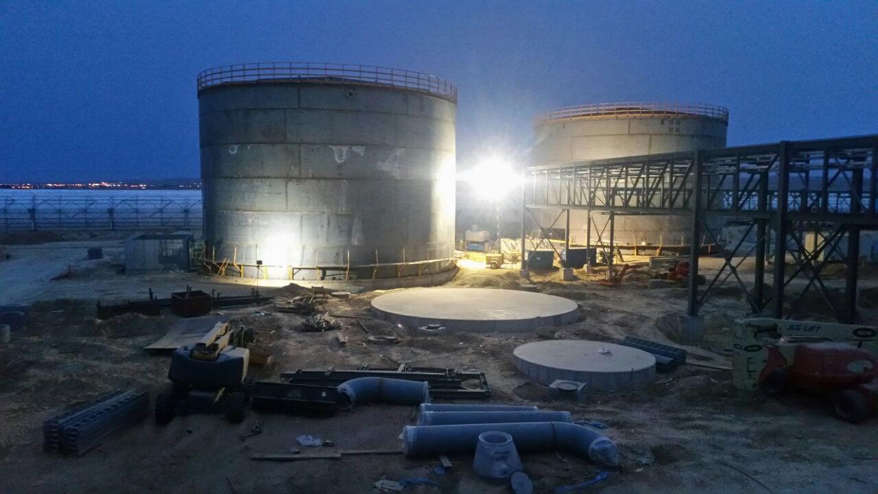 Demi Water Storage Tanks