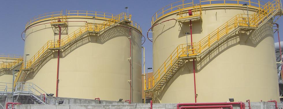 Fuel Storage Tanks Installation