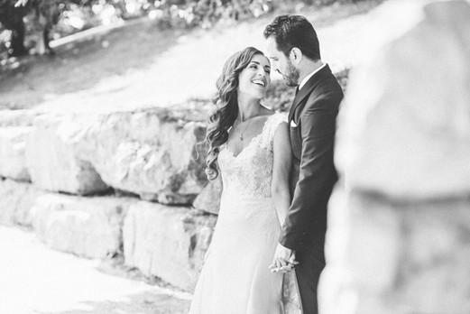 Hazelton Manor Wedding - Bride and Groom Portraits