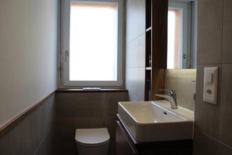 APRÈS : WC & DOUCHE