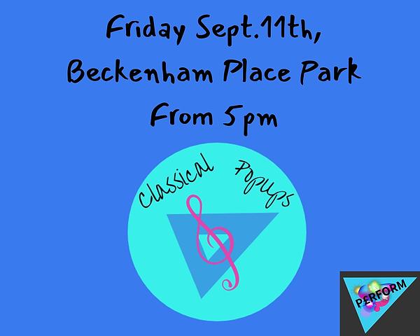 Friday Sept.11th Beckenham Place Park Fr