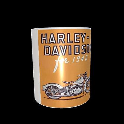 6 mugs collector Harley Davidson retro 2 de 1940 à 1968
