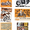 Thumbnail: 6 mugs collector Harley Davidson retro 2 de 1940 à 1968