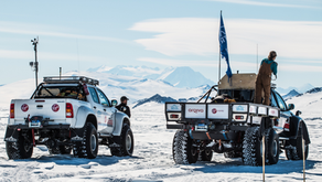 Beyond Adventure and Arctic Trucks take you to Antarctica!