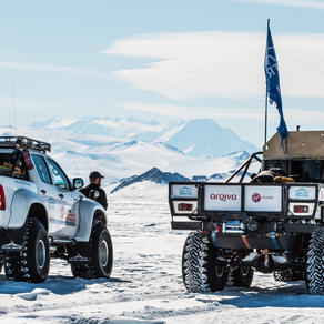 Beyond Adventure and Arctic Trucks take you to Antarctica!