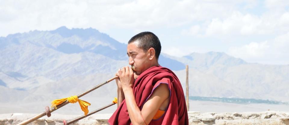 budhist india musician