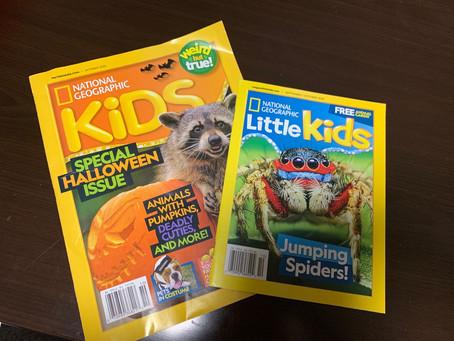 Nat Geo Kids/Little Kids 10月号 Get✌️