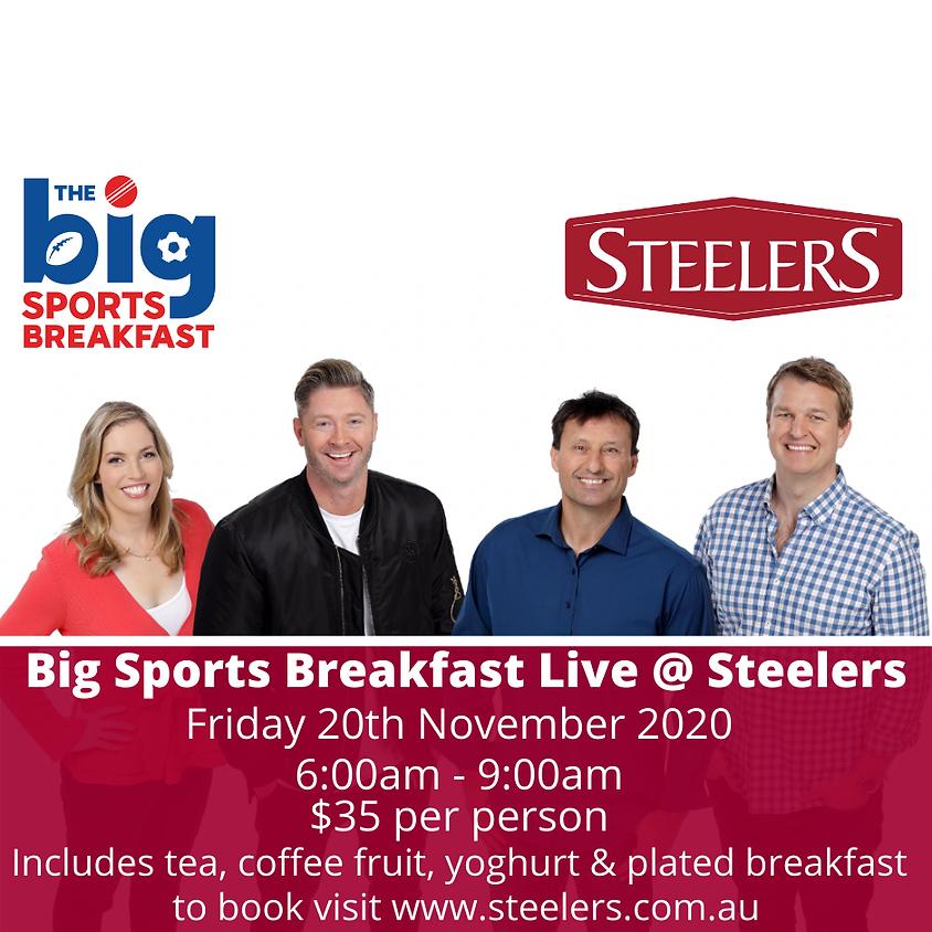Big Sports Breakfast live @ Steelers