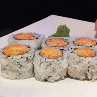 Spicy Crab Roll Samurai Sushi and Hibach