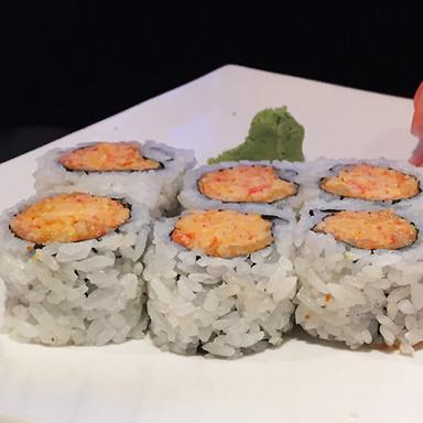 Spicy Crab Roll Samurai Sushi and Hibach