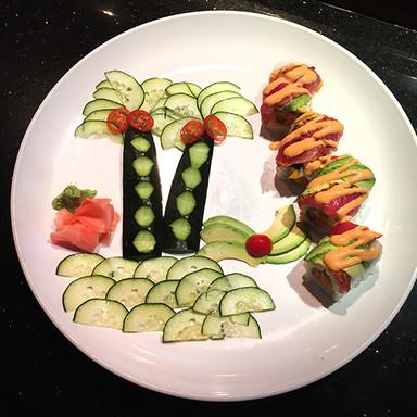 Crazy Tuna Roll Samurai Sushi and Hibach