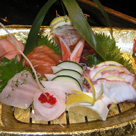 House sashimi Samurai Sushi and Hibachi