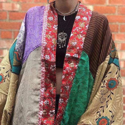 Recycled Sari Kimono