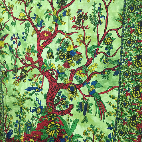 Fair Trade Gifts Green Tree of Life Wall Hanging 1