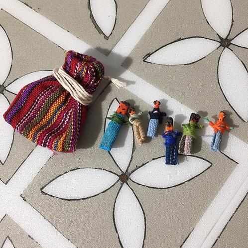 Mini Worry Dolls